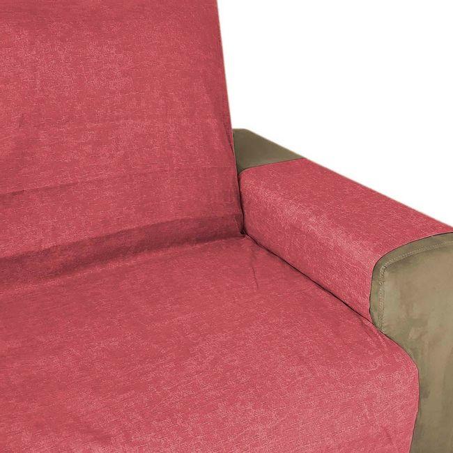 Protetor-de-Sofa-Vermelho-3-e-2-Lugares-Elegance-Izaltex