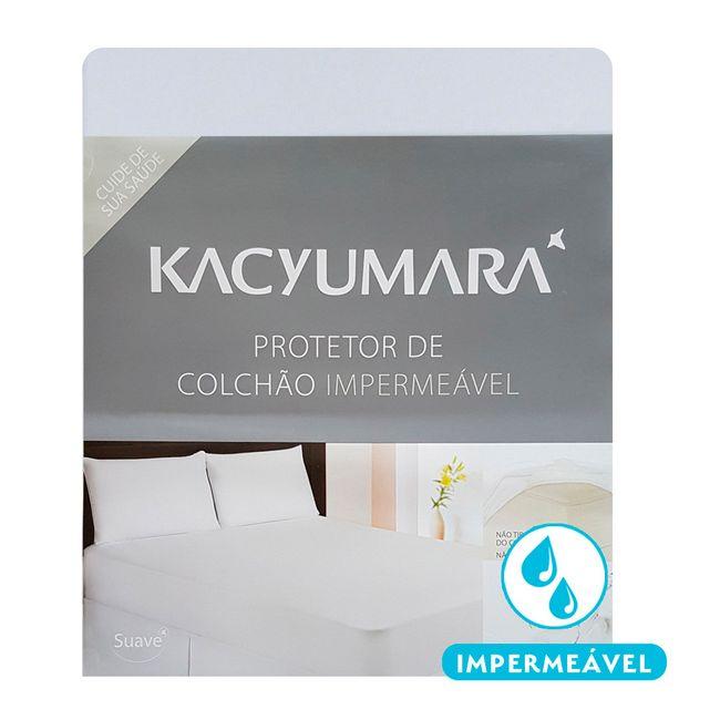Protetor-de-Colchao-Impermeavel-Kacyumara-Solteiro-King-Algodao-96cm---ShopCama