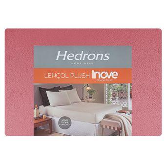 Lencol-de-Plush-Solteiro-Hedrons--88x188x30cm----Romance