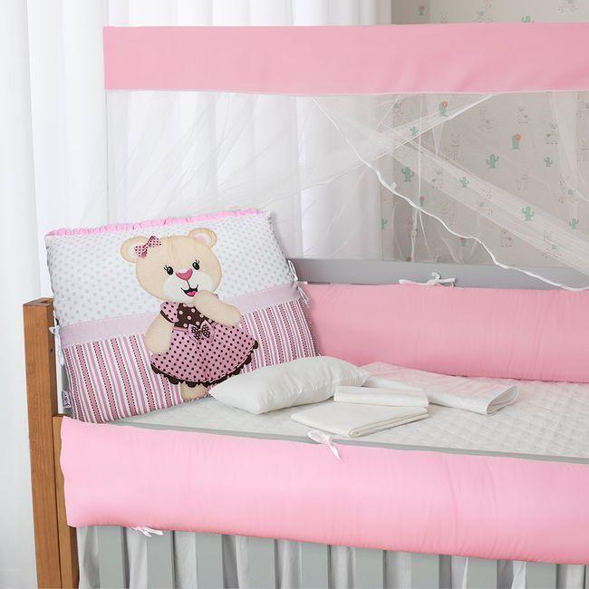 Kit-Berco-para-Meninas-Rosa-com-9-Pecas-Brubrelel- -ShopCama