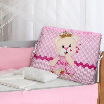 Kit-Berco-para-Meninas-Princesa-Rosa-com-9-Pecas-Brubrelel-|-ShopCama