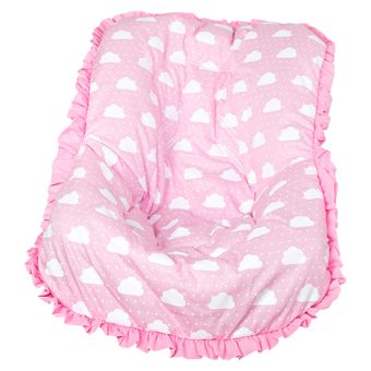 Capa-para-Bebe-Conforto-Nuvenzinha-Rosa-Brubrelel-|-ShopCama
