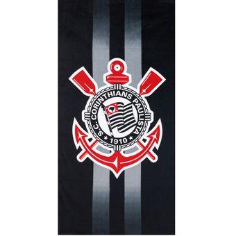 Toalha de Banho Corinthians Modelo 9 70x140cm Oficial Original | img1 | Shopcama