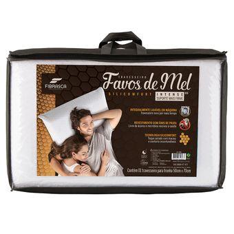 Travesseiro-Favos-de-Mel-Silicomfort-Intense-Fibrasca-|-ShopCama