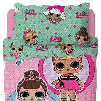 Colcha-Infantil-LOL-Bouti-Dupla-Face-2-Pecas-|-ShopCama