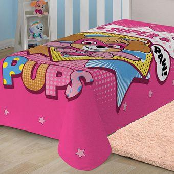 Manta-Infantil-Patrulha-Canina-Menina-Fleece-Lepper-|-ShopCama