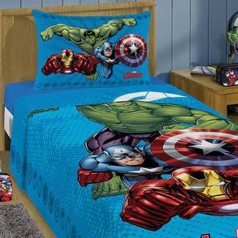 Jogo-de-Cama-Infantil-Avengers-Lepper-3-Pecas-|-ShopCama