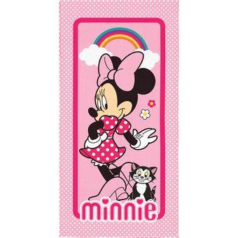 Toalha-de-Praia-Infantil-Minnie-Transfer-Lepper-|-ShopCama