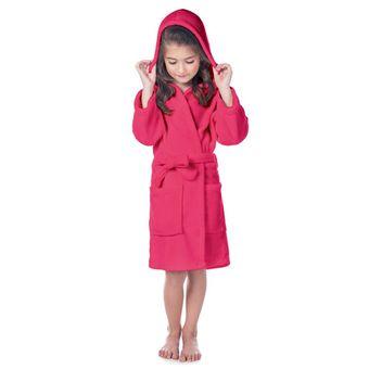Roupao-Infantil-Fleece-com-Capuz-Pink-Tamanho-P-Lepper-|-ShopCama