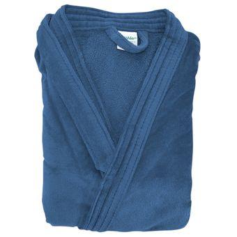 Roupao-Masculino-Tamanho-GG-Azul-Dohler-Quimono-|-ShopCama