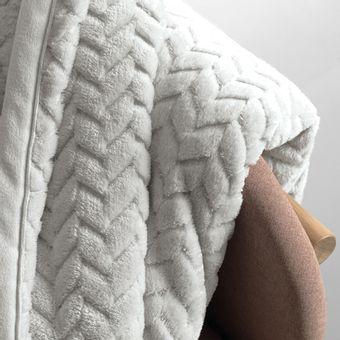 Manta-King-Size-Karsten-Aspen-Cinza-Fleece- -ShopCama