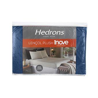 Lencol-de-Plush-Casal-Hedrons-Azul-Stone-|-ShopCama