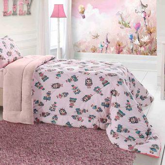 Edredom-Infantil-para-Meninas-LoL-em-Malha-BBc-Textil-|-ShopCama