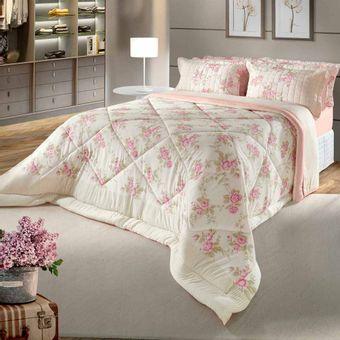 Edredom-King-Size-em-Malha-BBc-Textil-Creme-Modelo-01-|-ShopCama