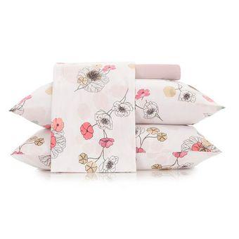 Jogo-de-Cama-King-Size-Altenburg-4-Pecas-Malha-In-Cotton--Flowertopia-|-ShopCama