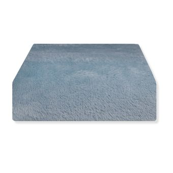 Lencol-Avulso-em-Plush-King-Size-Hedrons-Azul-Stone- -Shopcama