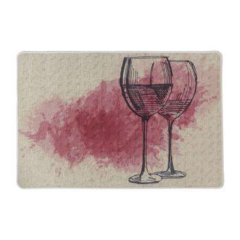 Tapete-para-Cozinha-Jolitex-Bistro-40x60cm-Vinho