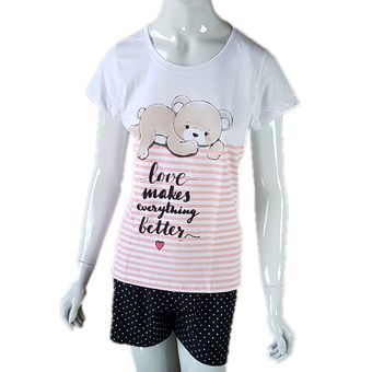 Pijama-Feminino-Manga-Curta-e-Shorts-Branco-G-Pzama-Ref-40063