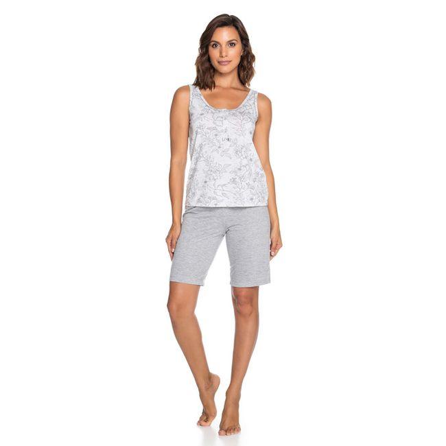 Pijama-Feminino-Shorts-e-Regata-Mescla-Senilha-Ref-6275--P-