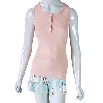 Pijama-Feminino-Regata-e-Shorts-Flamingo-GG-Pzama-Ref-40049