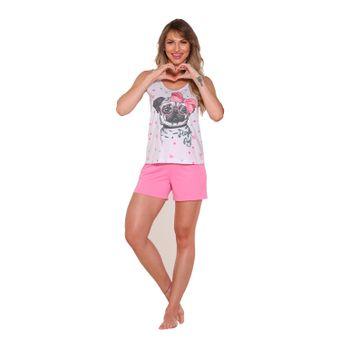 Pijama-Feminino-Short-Doll-Pink-Tam--P----Senilha