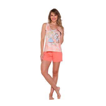 Pijama-Feminino-Short-Doll-Coral-Tam--P----Senilha