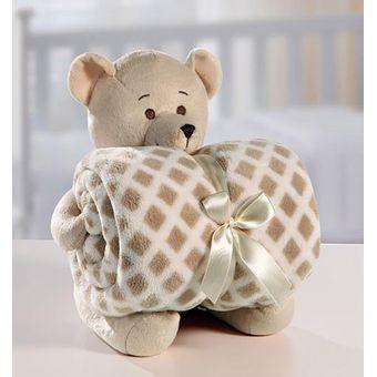 Kit-Manta-com-Bichinho-de-Pelucia-Urso-Bege-Bouton-Baby