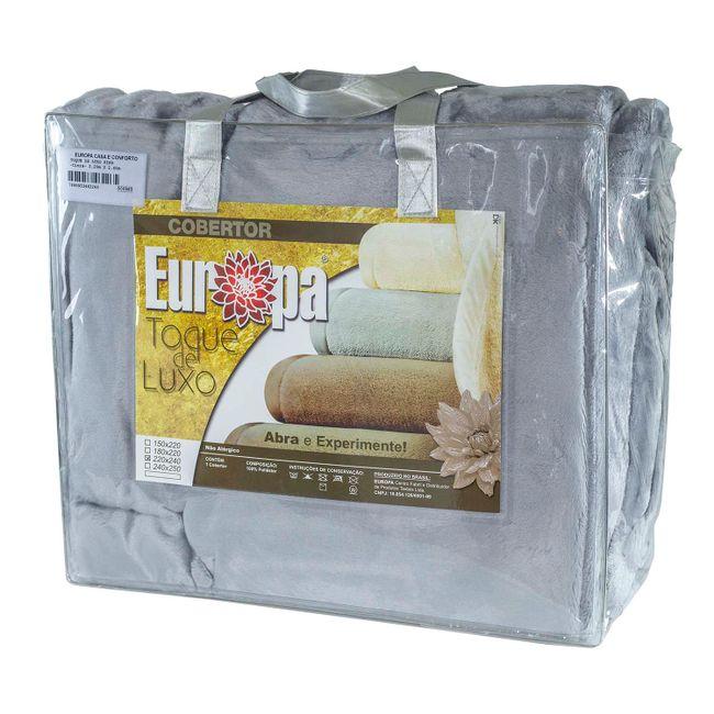 Cobertor-Queen-Size-Europa-Toque-de-Luxo-220-x-240cm---Cinza