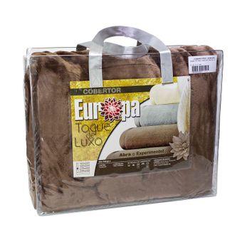 Cobertor-Super-King-Size-Europa-Toque-de-Luxo-240-x-280cm---Marrom