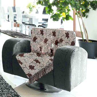 Manta-para-Sofa-2-Lugares-Izaltex-Imperial---Bordo-Floral