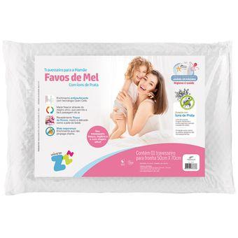 Travesseiro-Favos-de-Mel-Mamae-Fibrasca-com-Ions-de-Prata