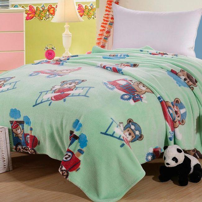 Cobertor-Infantil-Sultan-Microfibra-Ursinho-Aviador-250-g-m²