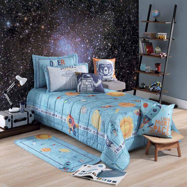 Colcha-Cobreleito-Infantil-Hedrons-2-Pecas---Space