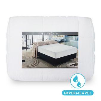Protetor-de-Colchao-Impermeavel-Solteiro-BBC-Textil-Matelasse-Branco-88x188x30cm