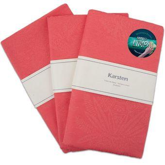 Kit-3-Pecas-Trilho-de-Mesa-Karsten-Sempre-Limpa-50x170cm-Tropical-Coral