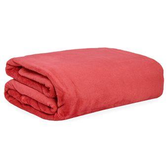 Manta-de-Microfibra-Solteiro-Buettner-Vermelho-220-g-m²-|-Shopcama