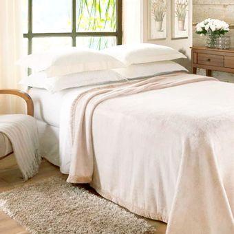 Cobertor-Casal-Jolitex-Raschel--180x220cm--620-g-m²---Marfim-|-Shopcama