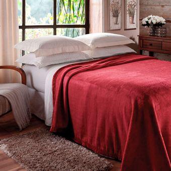Cobertor-Solteiro-Jolitex-Raschel--150x220cm--620g-m²-Vinho-|-Shopcama