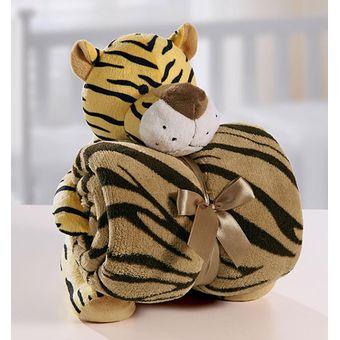 Kit-Manta-com-Bichinho-de-Pelucia-Tigre-Bouton-Baby