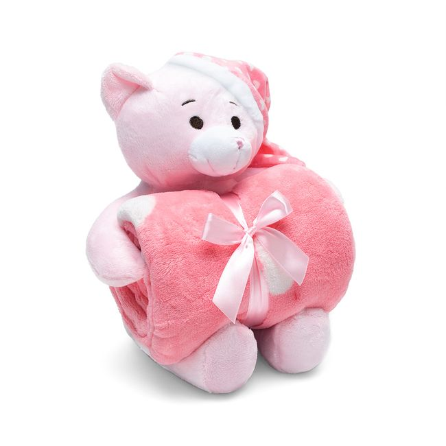 Kit-Manta-com-Bichinho-de-Pelucia-Teddy-Rosa-Bouton-Baby