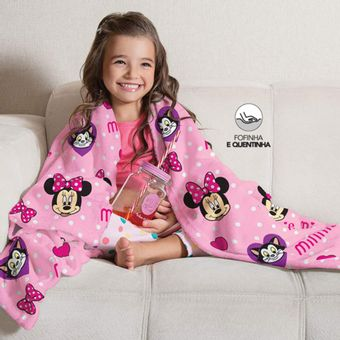 Manta-Infantil-para-Sofa-Fleece-Minnie-Lepper