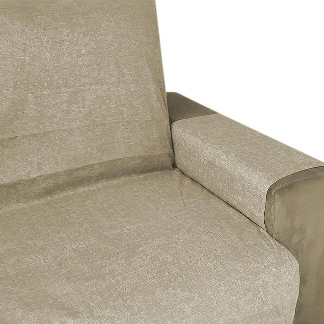 Protetor-de-Sofa-Izaltex-3-e-2-Lugares-Elegance---Bege-Maringa