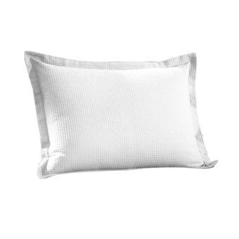 Porta-Travesseiro-Dohler-Piquet-Branco-50x70cm