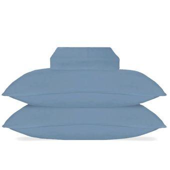 Jogo-de-Cama-Queen-Size-Hedrons-3-Pecas-Malha-Azul-Ibiza