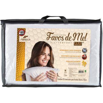 Travesseiro-Favos-de-Mel-Fibrasca-Suporte-Alto