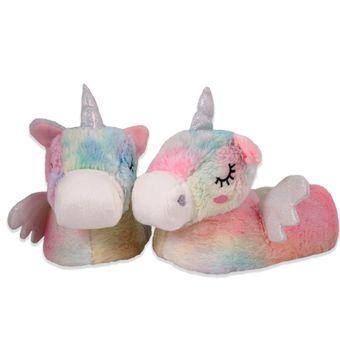 Pantufa-Adulto-Unicornio-Arco-Iris-Europa-36-37-