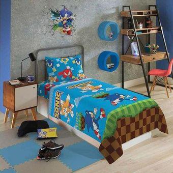 Jogo-de-Cama-Infantil-Sonic-3-Pecas-Lepper