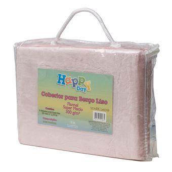 Cobertor-para-Bebe-Flannel-Sultan-110x90cm-300-g-m²-Rosa