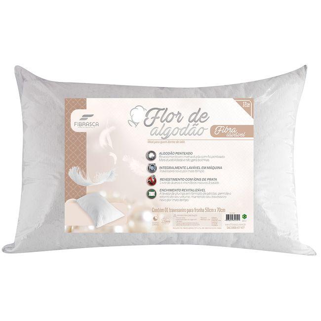 Travesseiro-Fibrasca-Flor-de-Algodao-Fibra-Lavavel