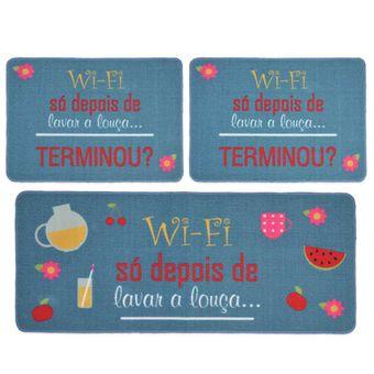 Jogo-de-Tapetes-para-Cozinha-3-Pecas-Jolitex-Gourmet-Wi-fi